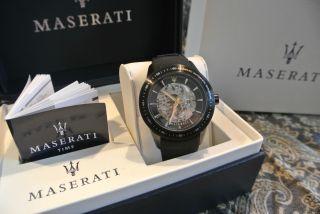 Maserati R8821110001 Corsa Herren - Automatikuhr Schneller Bild