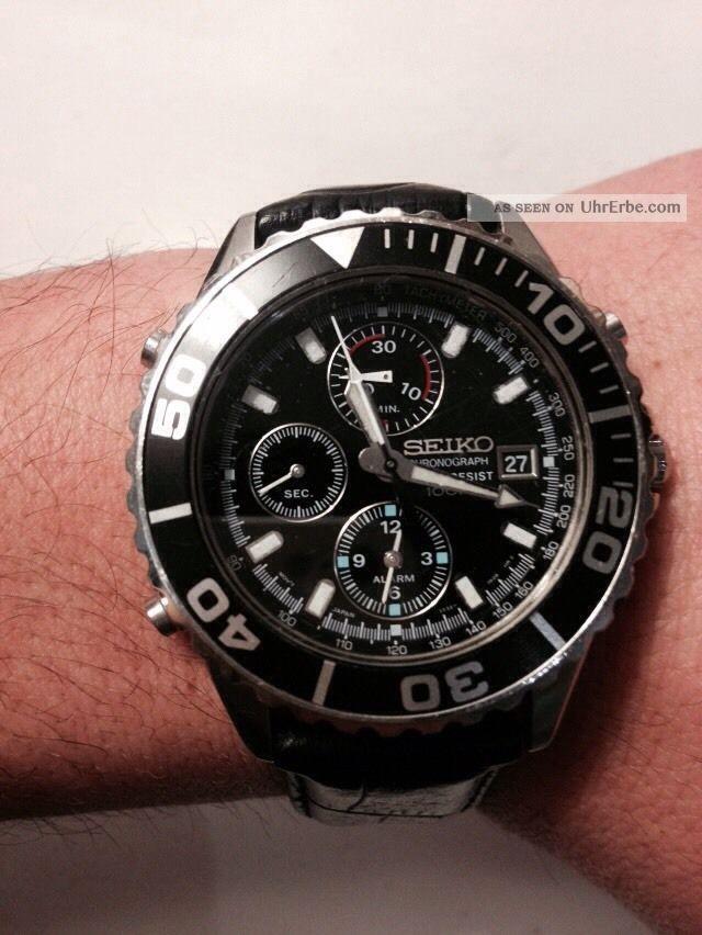 Seiko Crhonograph Herrenuhr Armbanduhren Bild