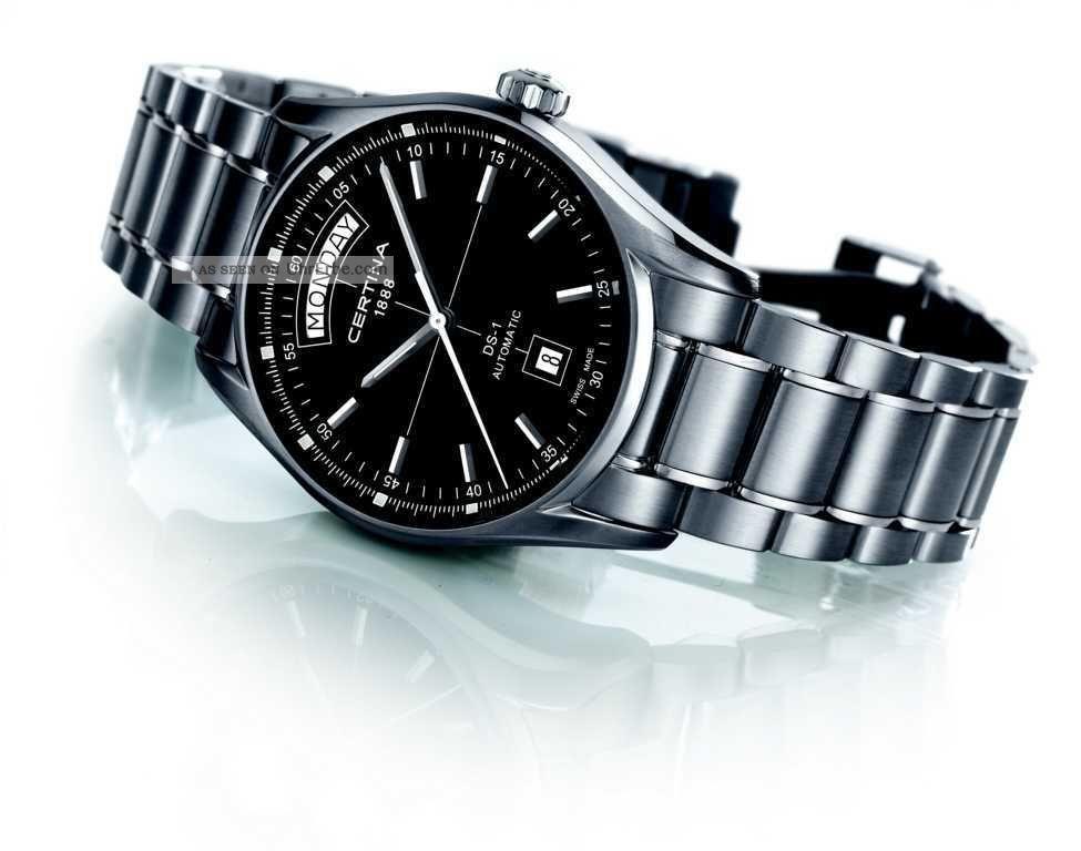Certina Ds - 1 Automatikuhr Armbanduhren Bild