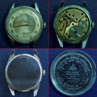 Armbanduhr,  Rare,  Vintage,  Frühe Seamaster Von Omega Mit Kleiner Sekunde Bild