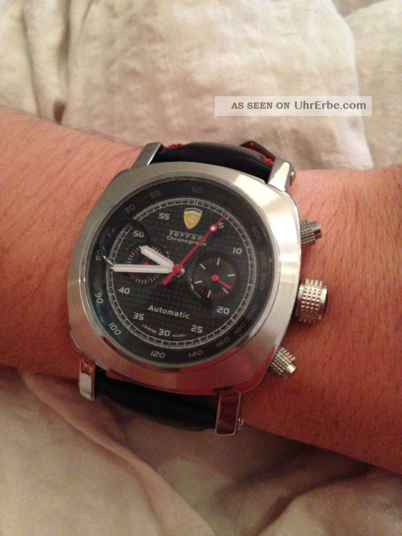 Nagelneue Ferrari Uhr (nicht Orginal) Armbanduhren Bild