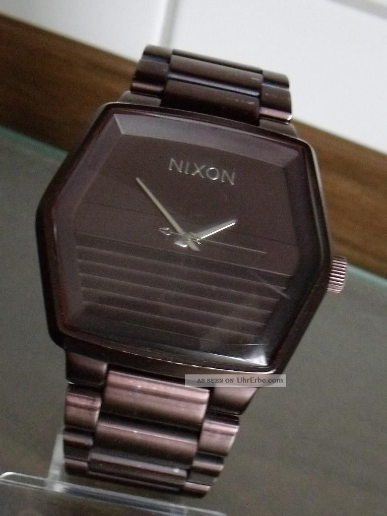Nixon The Mayor - Die Große Ca.  45mm Herrenarmabanduhr Armbanduhren Bild
