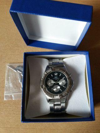 Mc Herren Armbanduhr/ Chronograph Vd54 - Analog - Silber - Quarz Bild
