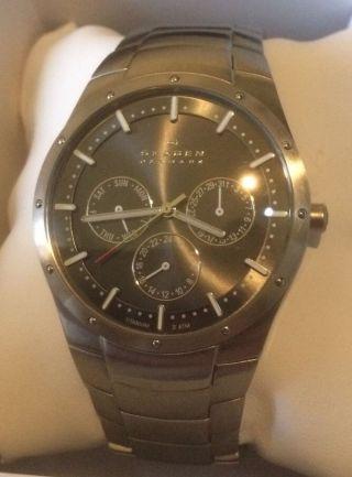 Skagen Herrenuhr Titan Uhr Bild