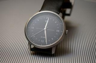 Elegante Xen Herren Armbanduhr Mit 24h Anzeige,  Schwarz Bild