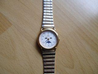 Defekte Uhr Sammlung An Bastler Alte Dugena Quartz Herren Armbanduhr Bild