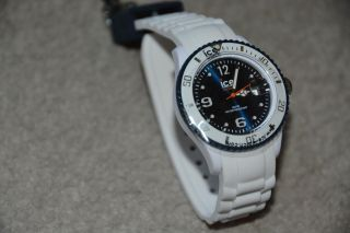 Ice Watch - Ice White White Dark Blue Unisex - Bild