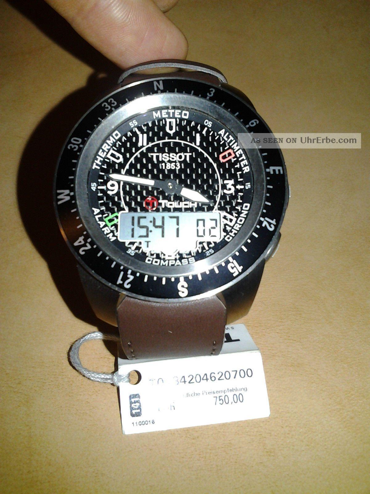 T - Touch Tissot Schweitzer Multifunktionuhr,  Chronograph Uhr Armbanduhren Bild