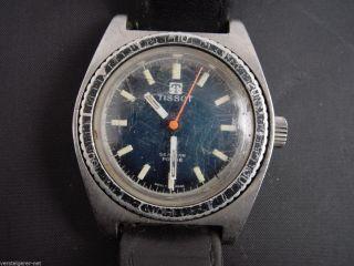 Tissot Armbanduhr Seastar Pr 516 Swiss Made,  Läuft Gut,  Jedoch Schlechte Optik. Bild