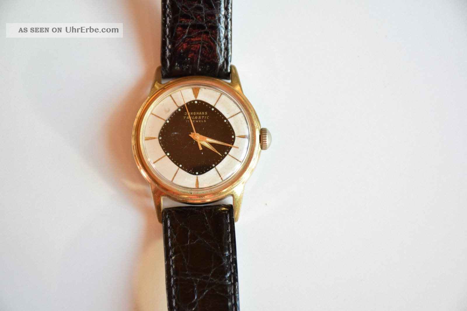 Junghans Trilastic Mechanische Herrenuhr 17 Jewels Armbanduhren Bild