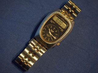 Heuer Senator Gmt 107 Swiss Made Armbanduhr Herren Edelstahl Hau Kein Tag 1979 ? Bild