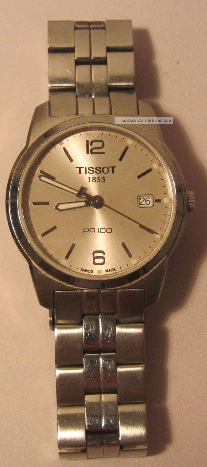 Tissot Herrenuhr Pr100 Armbanduhren Bild