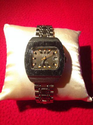 Vintage Kienzle Sport Herren Armbanduhr 70 ' Er Jahre Antike Uhr Funktionstüchtig Bild