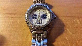 Fossil Blue Bq - 8775 Chronograph Herrenarmbanduhr Edelstahl Bild