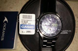 Casio Oceanus Ocw - 520 - De - 1avef,  Funk /solar Bild