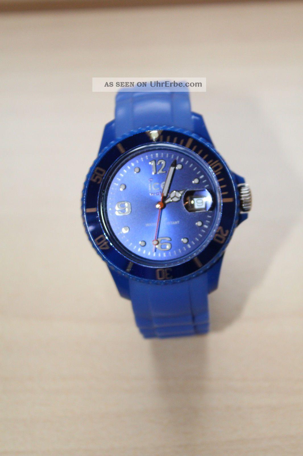 Ice Watch Uhr In Blau - Unisex Armbanduhren Bild