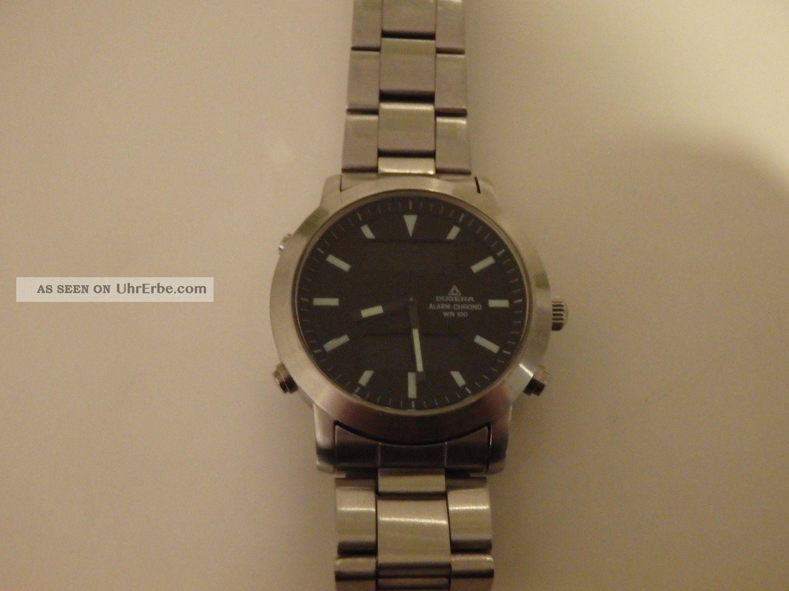 Dugena Alarm - Chrono - Cal.  T241 - 2022947 - Schöne Uhr - Analog / Digital Armbanduhren Bild