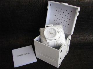 Diesel Armbanduhr Dz1590 Weiß Xl - Size 46 Mm Bild