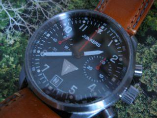 Junkers 6212 Chronograph Mit P3133 Handaufzug Bild
