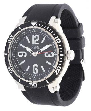 Guess Damen Armbanduhr Marathon Schwarz W0044g1 Bild