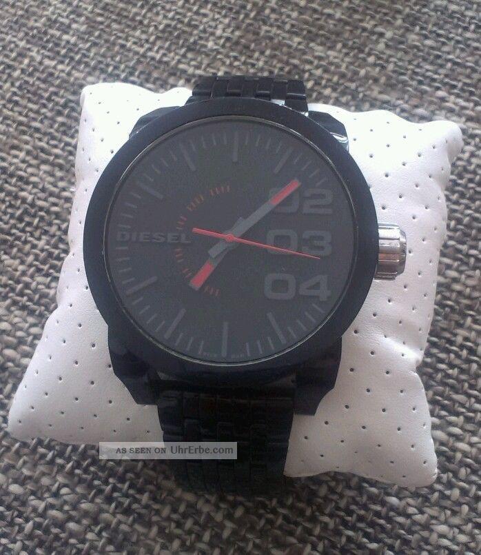 Diesel Herrenuhr Edelstahl Schwarz Armbanduhren Bild