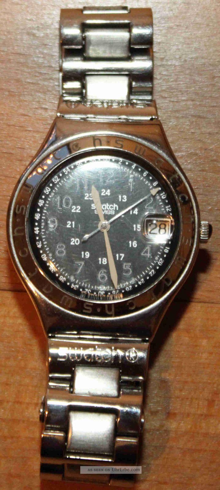 Swatch Herrenuhr Armbanduhren Bild