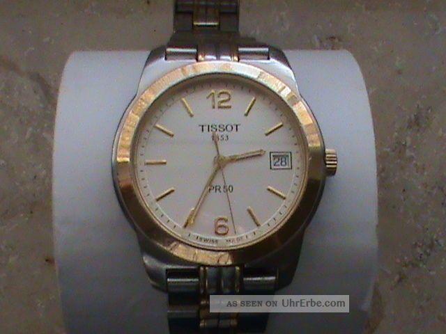 Tissot Pr 50 Herrenuhr Bicolor Armbanduhren Bild