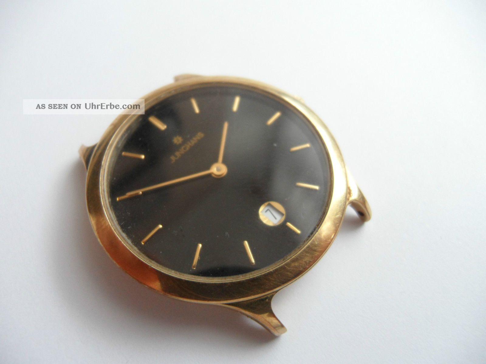 Herrenuhr Junghans Uhr Armbanduhr Armbanduhren Bild