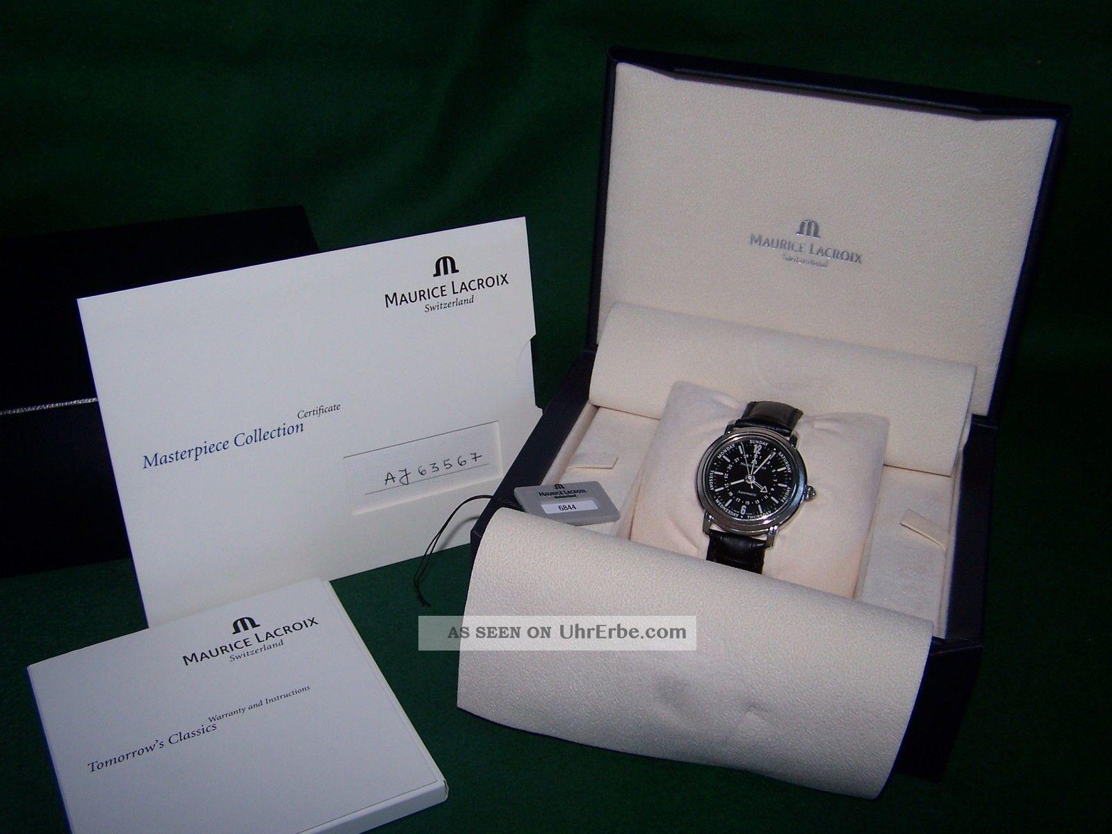 Maurice Lacroix Masterpiece Armbanduhr Armbanduhren Bild