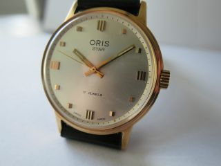 Oris Star Handaufzug Old Stock Top Ungetragen Bild