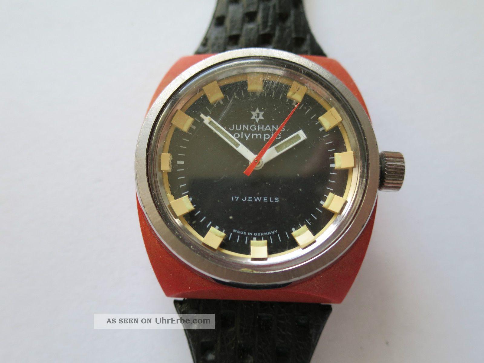 Junghans Olympic Handaufzug Armbanduhren Bild