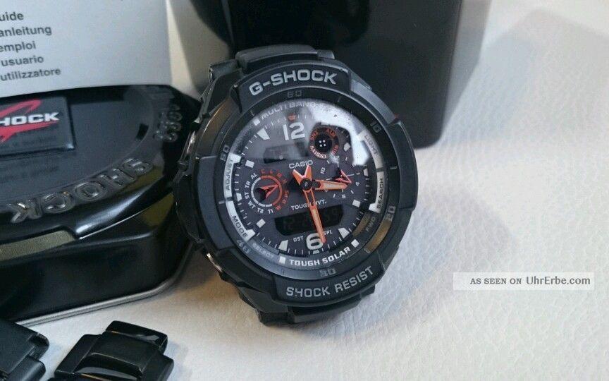 Casio Herren Armbanduhr G - Shock Funk Gw - 3500bd Mit Anleitung,  Dose Armbanduhren Bild