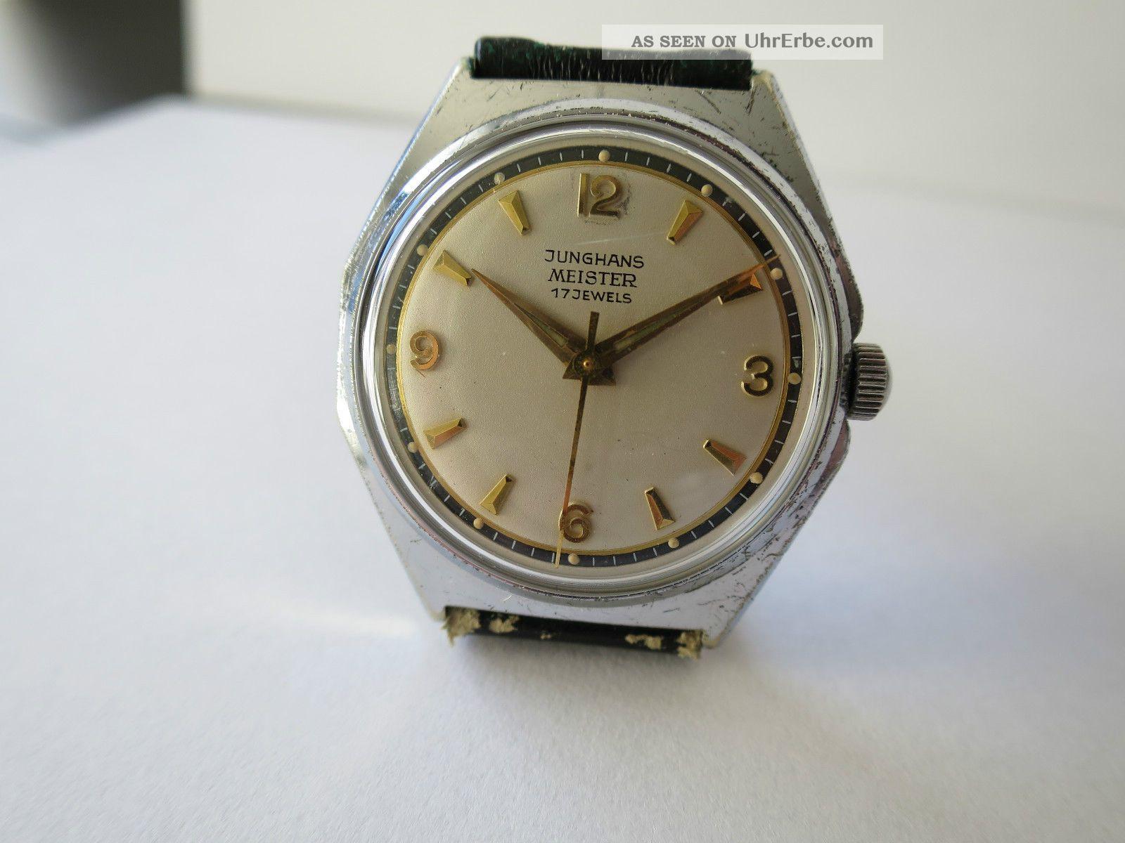 Junghans Meister Handaufzug Kaliber 82/1 Armbanduhren Bild