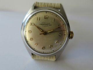 Junghans Chronometer Handaufzug Kaliber 82/1 Bild