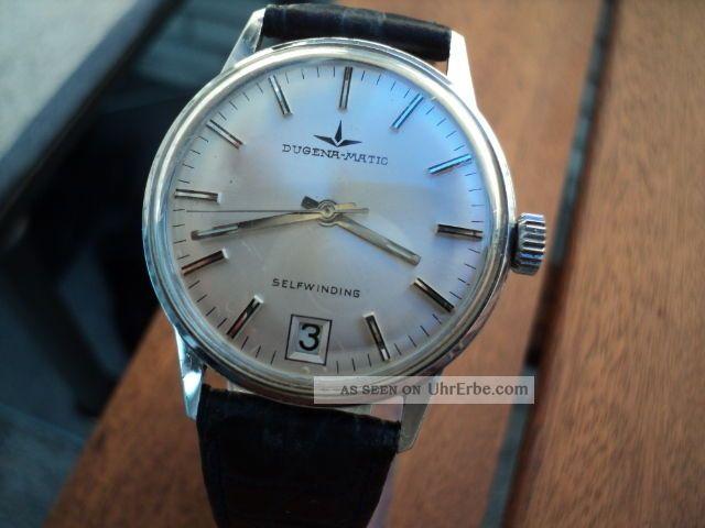 Dugena Matik Selfwindig Automatik Herren Armbanduhr Armbanduhren Bild