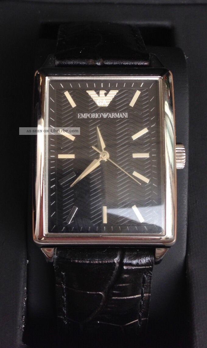 Emporio Armani Herrenuhr - Wie Armbanduhren Bild