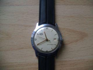 Defekte Uhr Sammlung An Bastler Alte Umf Ruhla Mechanisch - Handaufzug Herrenuhr Bild