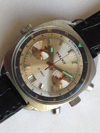 Poljot Sturmanskie Herrenuhr Chronograph - Handaufzug Russian Bild