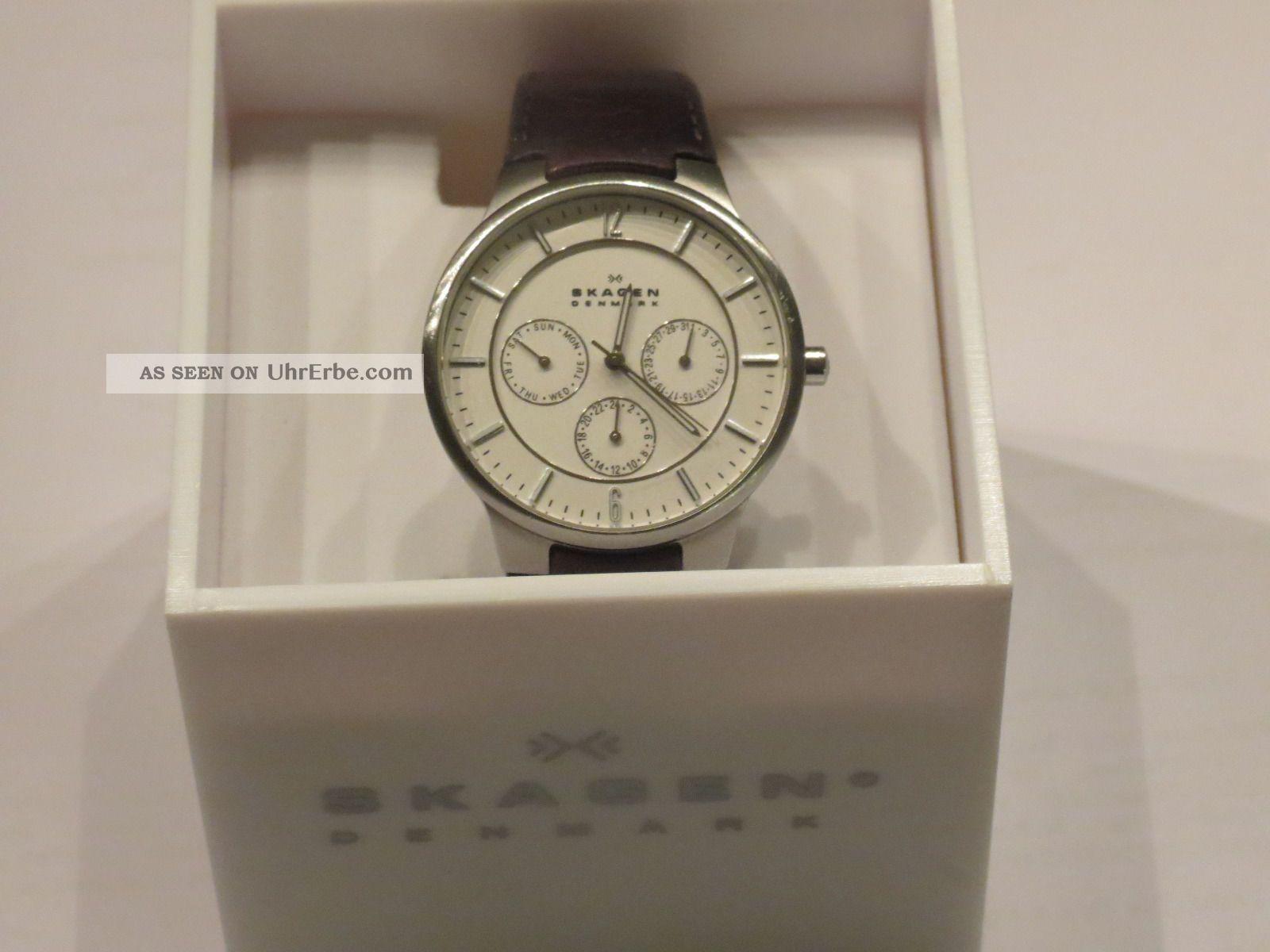 Skagen Herrenuhr 331 Xlsl1 Armbanduhren Bild