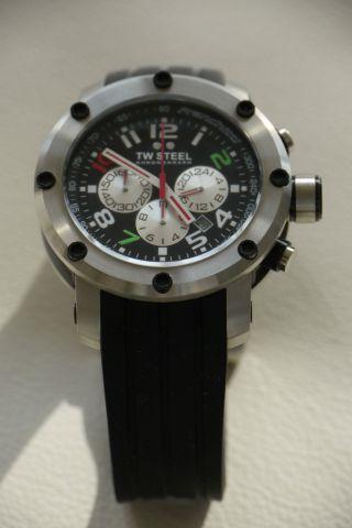 Tw - Steel Grandeur Tech Dario Franchitti Sonderedition Tw607 - 45 Mm Wie Bild