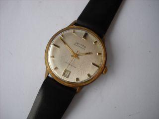 Zentra Schwebering,  Herren,  Armbanduhr,  Automatik,  Vergoldet,  Kaliber Puw 1361 Bild