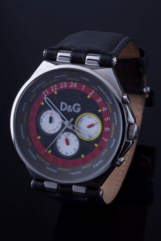D&g - Dolce Gabbana Quarz Uhr/chronograph/herrenuhr/armbanduhr Bild