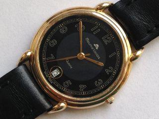 Schöne Orig.  Maurice Lacroix Quartz Uhr Armbanduhr. Bild