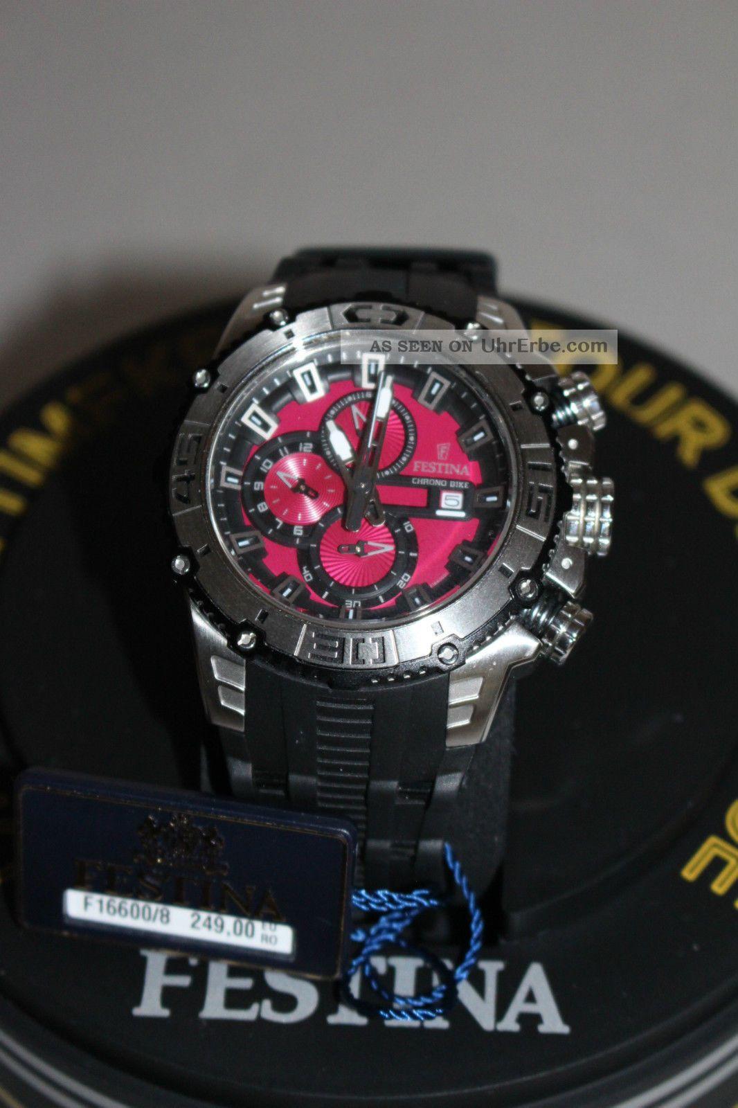 Festina Sport Chrono Bike Armbanduhr Für Herren (f16600/8) Top Uhr Armbanduhren Bild
