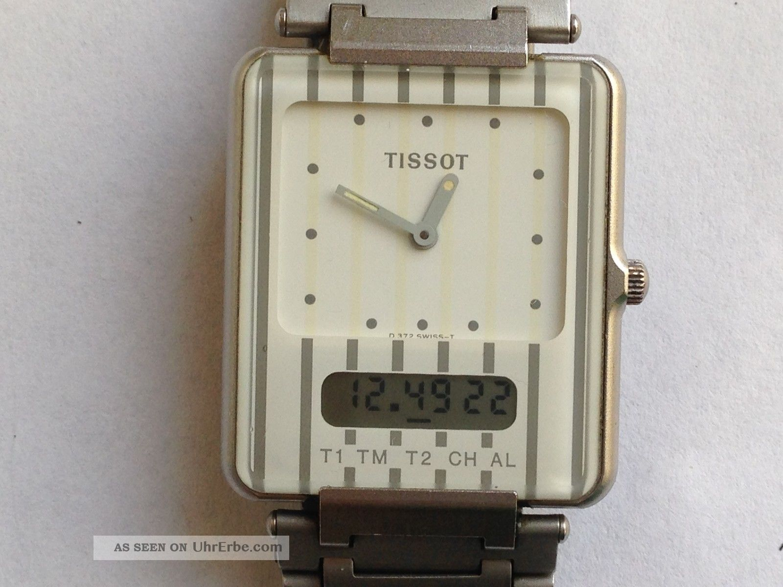 Schöne Origtissot Two Timer/ Twotimer,  Ovp Armbanduhren Bild