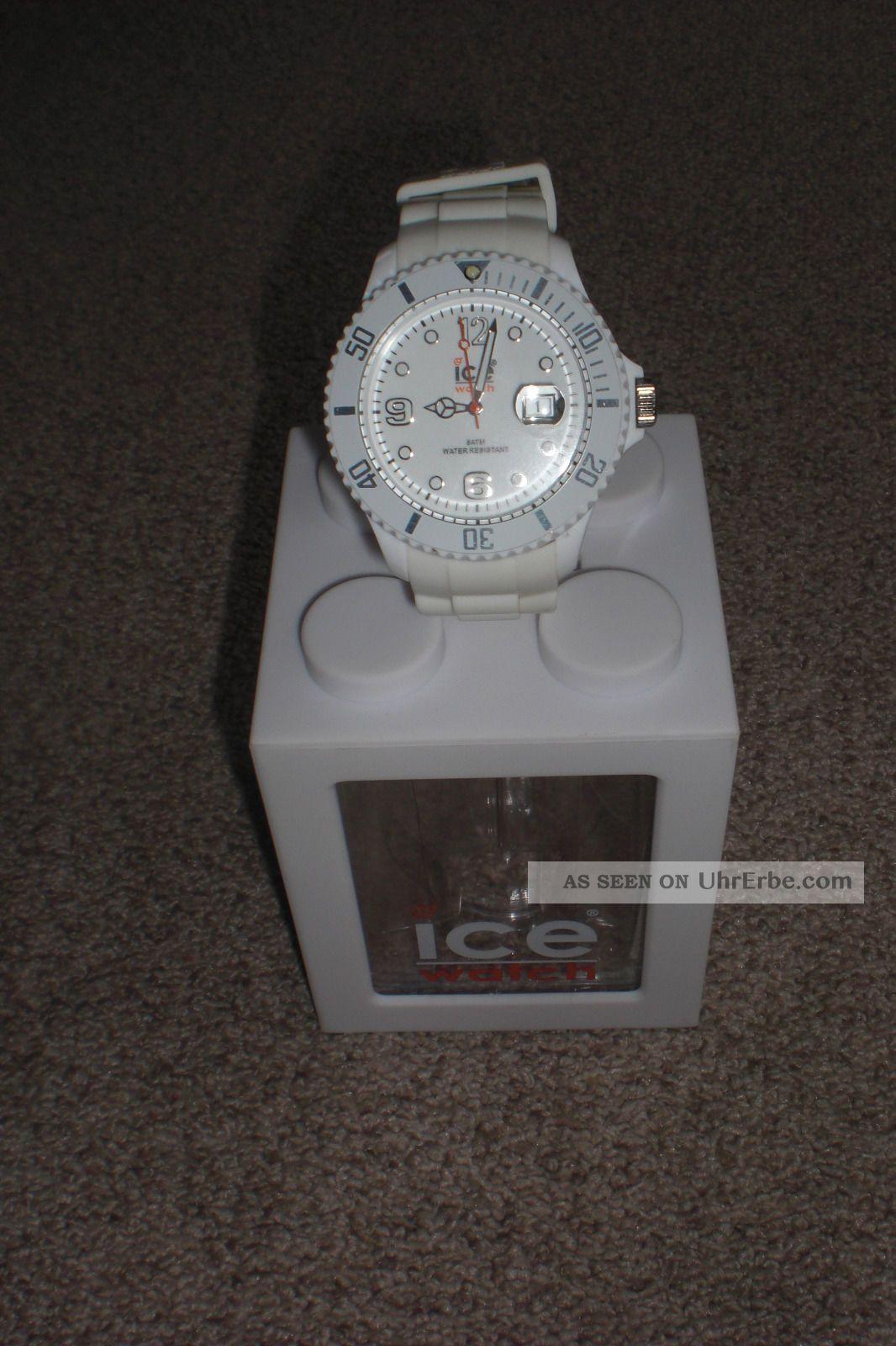 Ice Watch Sili Forever White Big Weiß Uhr Damen Herren Armbanduhren Bild