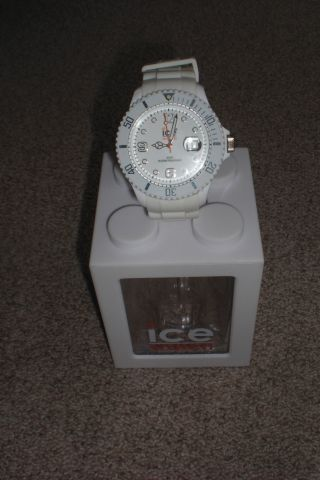 Ice Watch Sili Forever White Big Weiß Uhr Damen Herren Bild