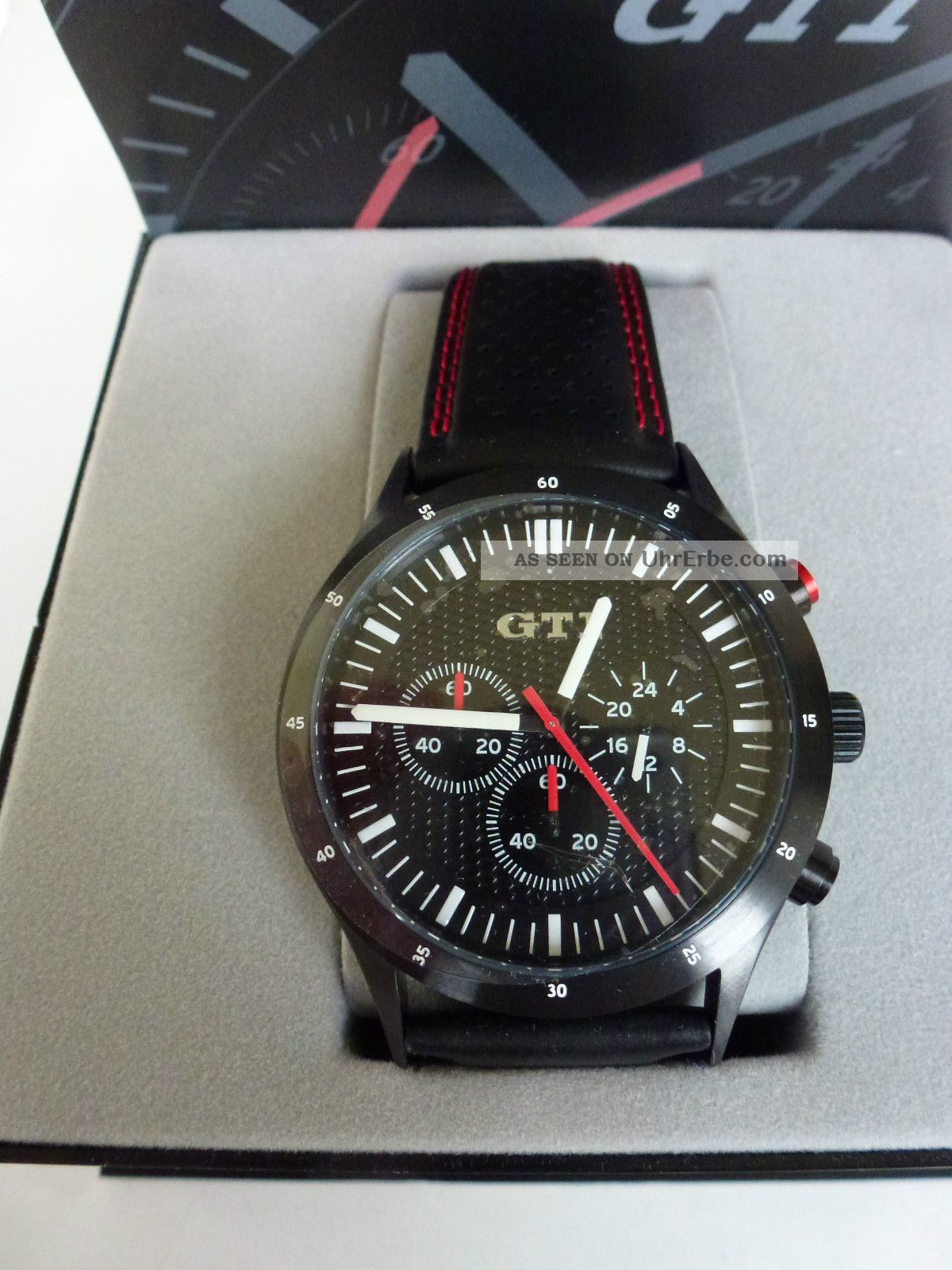 Gti Uhr Chronograph Seiko Vd54 / Armbanduhren Bild