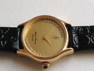 Schöne Orig.  Maurice Lacroix Damen Quartz Uhr Armbanduhr. Bild