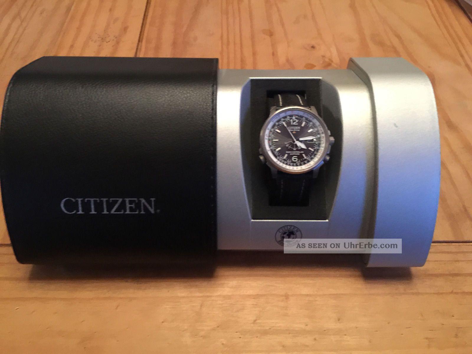 Citizen Promaster Eco - Drive Titanium Sapphire Radio Controlled Armbanduhren Bild